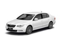 Купить автоковрики EVA на Skoda Superb II 2008-2013 (Шкода супер)
