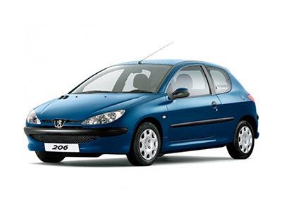 Купить автоковрики Peugeot 206 от 1998 г.в. (Пежо)