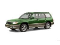 Купить автоковрики Subaru Forester II (SG) 2003-2008 (Субару форестер)