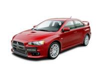 Купить автоковрики на Mitsubishi Lancer X от 2007 г.в. (Митсубили лансер)