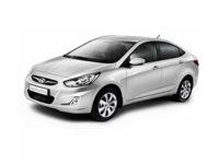 Купить автоковрики на Hyundai Solaris от 2014 г.в. Седан (Хендай солярис)