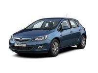 Купить автоковрики на Opel Astra J (Хэтчбек, седан) от 2010 г.в. (Опель астра)