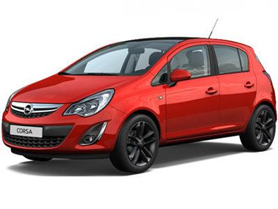 Купить автоковрики на Opel Corsa D рестайлинг от 2011 г.в. (Опель корса)