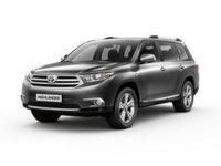 Купить автоковрики EVA на Toyota Highlander II (U40) 2007 — 2013 (Тойота)